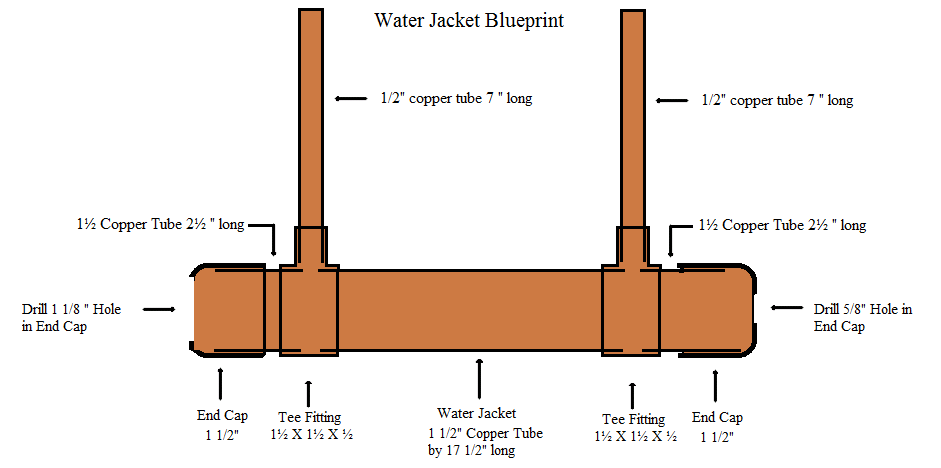 awesome still building plans #2: Water Jacket Reflux Still