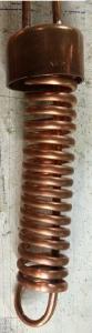 Boka coil condenser assembled