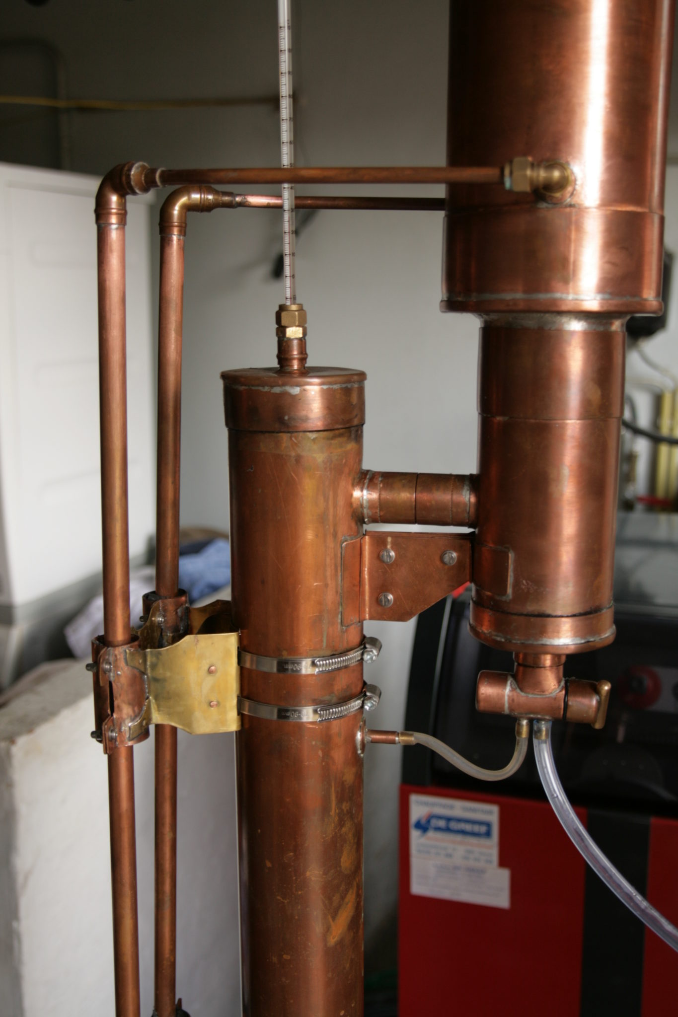 Building A Valved Reflux Column Still Step By Guide Learn Whiskey Diagram Upper