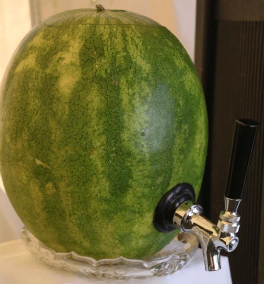 Serving Watermelon Moonshine
