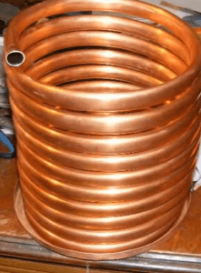condenser worm for pot still project