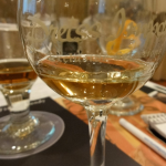 glycerin showing up in homemade whiskey on glass