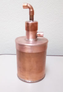 copper gin basket