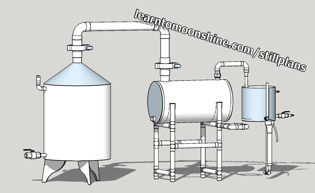 pot still plan CAD file