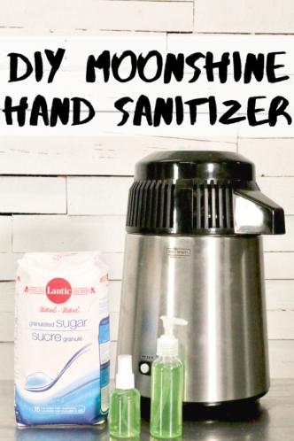moonshine hand sanitizer